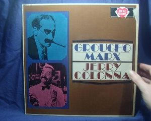 Groucho Marx + Jerry Colonna original soundtrack