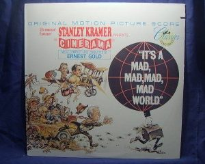 it's a mad, mad, mad, mad world by gold, ernest original soundtrack