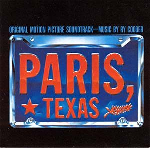 Paris Texas original soundtrack