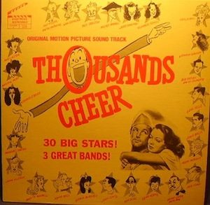 Thousands Cheer original soundtrack