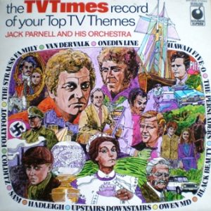 TV Times record of top tv themes original soundtrack