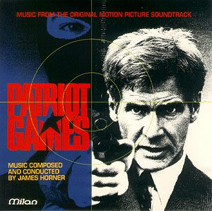 Patriot Games original soundtrack