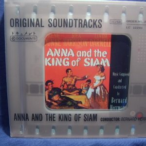 Anna and the King of Siam original soundtrack
