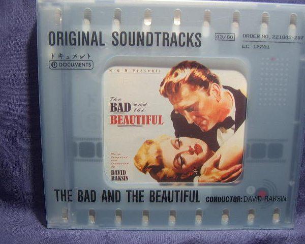 Bad and the Beautiful original soundtrack