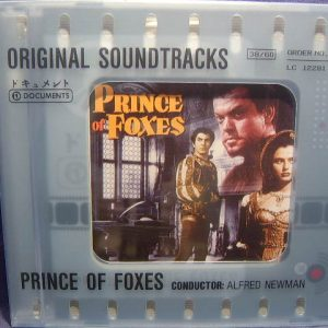 Prince of Foxes original soundtrack