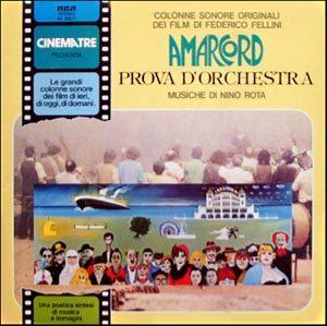 Amarcord + Prova d'Orchestra original soundtrack