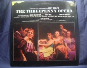 Threepenny Opera: original cast recording original soundtrack