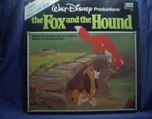 The Fox and the Hound: songs and dialogue original soundtrack