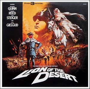 Lion of the Desert original soundtrack