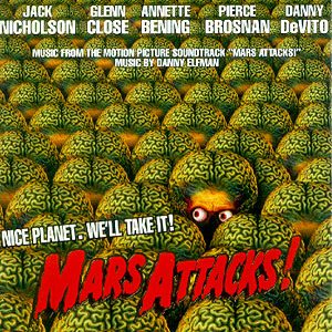 Mars Attacks! original soundtrack
