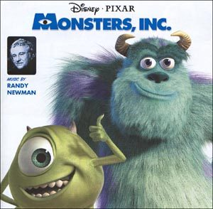 Monsters Inc. original soundtrack