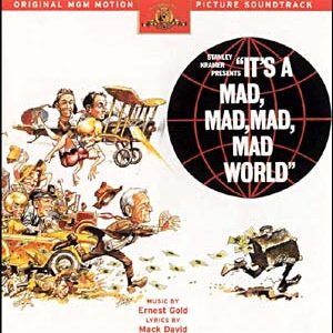 It's a Mad, Mad, Mad, Mad World original soundtrack