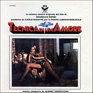 Tecnica di un Amore original soundtrack