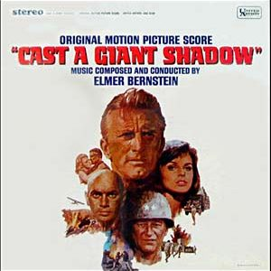 Cast a Giant Shadow original soundtrack