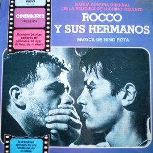 Rocco and his Brothers original soundtrack