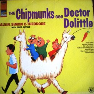 Chipmunks See Doctor Dolittle original soundtrack