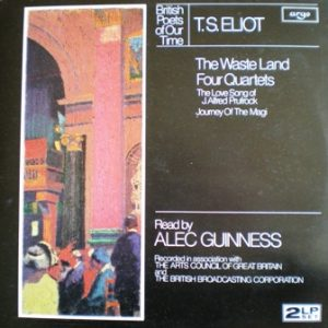 T.S. Elliot: British Poets of Our Time: Alec Guinness original soundtrack