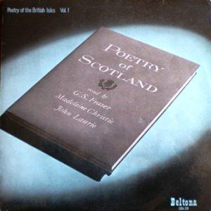Poetry of the British Isles vol.1: Scotland original soundtrack