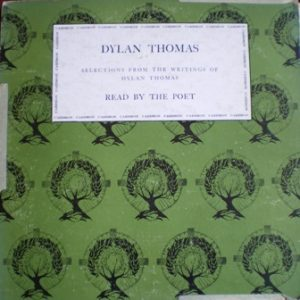 Dylan Thomas: Selections vol.1 original soundtrack