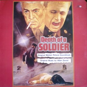 Death of a Soldier original soundtrack