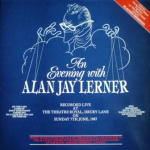 An Evening with Alan Jay Lerner original soundtrack