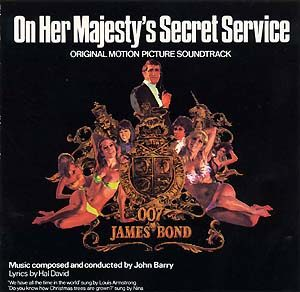 On Her Majesty Secret Service original soundtrack