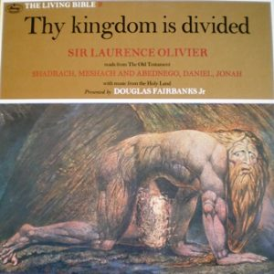 Living Bible 9: Thy Kingdom is Divided original soundtrack