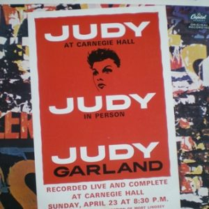 Judy at Carnegie Hall original soundtrack