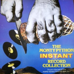 Monty Python Instant Record Collection original soundtrack