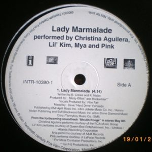 Moulin Rouge: Lady Marmalade original soundtrack