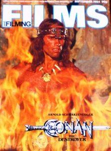 Films and Filming: Sept 84 original soundtrack