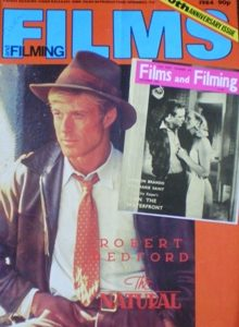 Films and Filming: Oct 84 original soundtrack