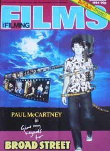 Films and Filming: Dec 84 original soundtrack