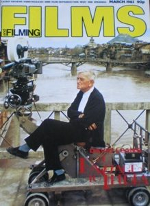 Films and Filming: March 85 original soundtrack