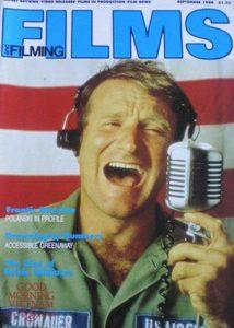 Films and Filming: Sept 88 original soundtrack