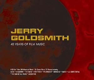 Jerry Goldsmith: 40 Years of Film Music original soundtrack