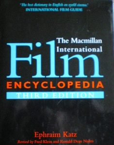 Macmillan International Film Encyclopedia original soundtrack