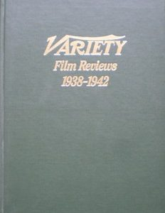 Variety Film Reviews: Vol.6 1938-1942 original soundtrack