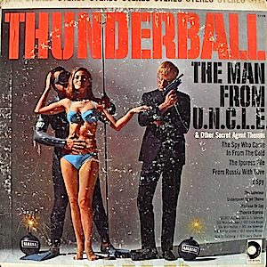 Thunderball & other secret agent themes original soundtrack