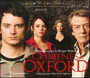 Crimenes de Oxford original soundtrack