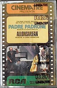 Padre Padrone + Allonsanfan original soundtrack