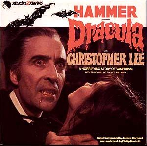 Hammer presents Dracula original soundtrack