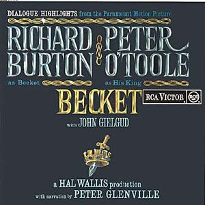 Becket original soundtrack