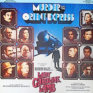 Murder on the Orient Express  + Lady Caroline Lamb original soundtrack