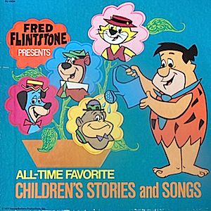 Fred Flintstone - Presents All Time Favorite Children's Stories and Songs 5 LP Box Set original soundtrack
