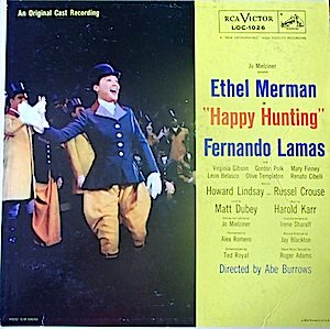 Happy Hunting: Original Broadway Cast original soundtrack