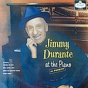 Jimmy Durante: At The Piano original soundtrack
