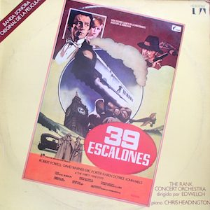 39 Steps original soundtrack