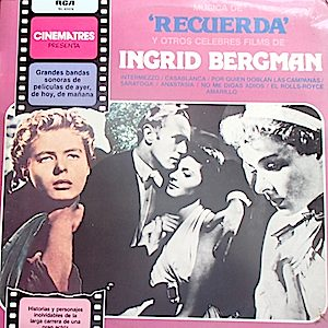 Spellbound & other classic films of Ingrid Bergman original soundtrack
