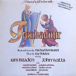 Troubadour: London Cast original soundtrack